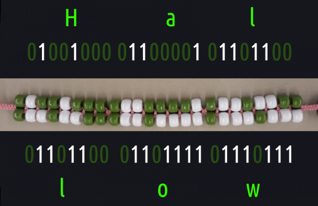 Virtual Tinkering Club for Grades 3 to 12: Creating your own Binary Bracelet