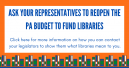 Ask Your Representatives to Reopen the PA Budget to Fund Libraries